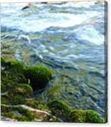 On The Edge 3 Canvas Print