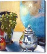 On The Etagiere Canvas Print
