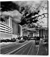 On The Expressway Canvas Print