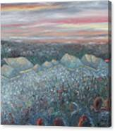 On The Hill At Greyfox Canvas Print