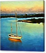 On The Intracoastal Isle Of Palms Sc Canvas Print