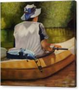 On The Kickapoo Canvas Print
