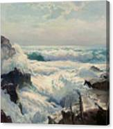 On The Maine Coast Canvas Print