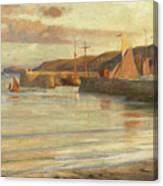 On The North Devon Coast Canvas Print