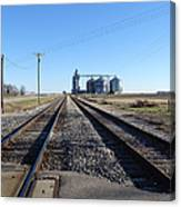 On The Right Tracks Canvas Print