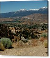 On The Road To Virginia City Nevada 20 Canvas Print