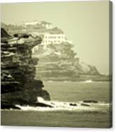 On The Rugged Cliffs Canvas Print