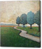 On The Rural Road Canvas Print