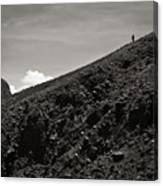 On The Slope Canvas Print
