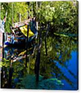 On The Water Canvas Print