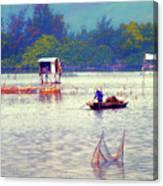 On The Way To Da Nang 4 Canvas Print