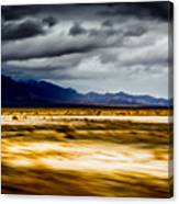 On The Way To Death Valley Canvas Print