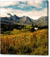 On The Way To Elgol Canvas Print