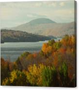 On The Way To Fall Canvas Print