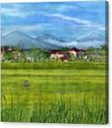 On The Way To Ubud 3 Bali Indonesia Canvas Print