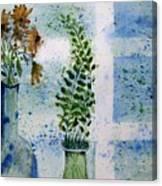 On The Windowledge Canvas Print
