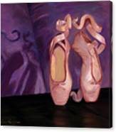 On Pointe - Mirror Image By Marilyn Nolan-johnson Canvas Print