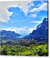 On Top Of Moorea Canvas Print