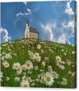 On Top Of The Hill Canvas Print