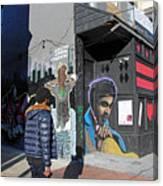 On U Street Canvas Print
