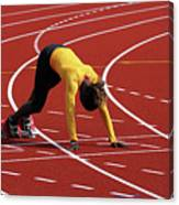 Track And Field 1 Canvas Print