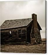 Once A Farmers Home Canvas Print