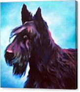 Once A Terrier Always A Terrier Canvas Print