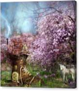 Once Upon A Springtime Canvas Print