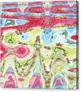 Ondes De Choc / Shock Waves Canvas Print