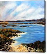 One Beach Washington Canvas Print