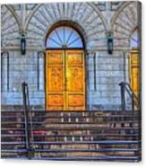 One Door And Only One Canvas Print