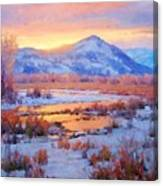 One Last Winters Eve Canvas Print