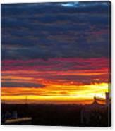 One Of The Prettiest Sunrises Canvas Print