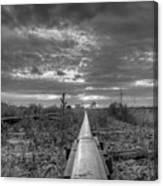 One Rail Canvas Print