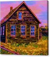 One Room Schoolhouse Canvas Print
