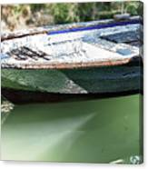 One Small Boat Canvas Print