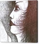 One Tear  Canvas Print