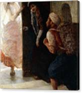 One Thousand And One Nights, The Porter Of Baghdad Canvas Print