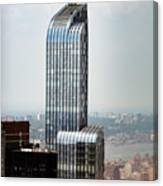 One57 And Park Hyatt Hotel In Nyc Canvas Print