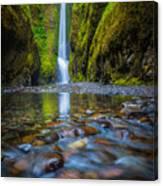 Oneonta Cascades Canvas Print
