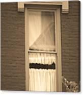 Jonesborough Tennessee - One Window Canvas Print