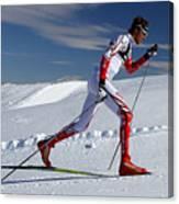 Online Winter Sports Equipment Canvas Print