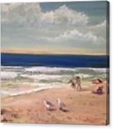 Onslow Beach Canvas Print