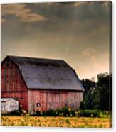 Ontario Barn In The Sun Canvas Print