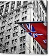 Ontario Flag Canvas Print