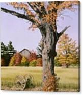 Ontario In October Canvas Print