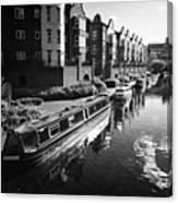 oozells street loop of birmingham canal navigations Birmingham UK Canvas Print