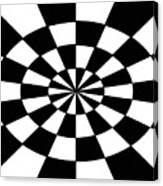 Op Art Canvas Print