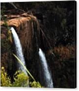 Opaekaa Falls Canvas Print