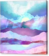 Opal Mountains Canvas Print
